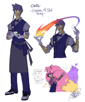 CBNS: Cloakless Renegade Mage by 123soleil