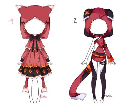 {Open 2/2} Auction Outfit 111 - 112 by xMikuChuu