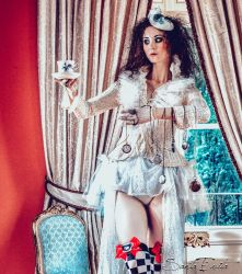 Fashion in Wonderland I by Santa-Evita