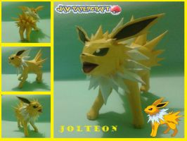 jolteon papercraft by javierini