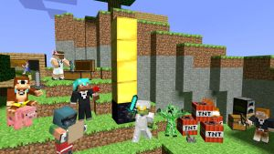 Let's Play! - Rooster Teeth Minecraft by Skull-Guy
