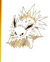 Jolteon by NintendoPie