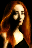 Lily Evans by helca-k