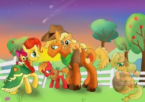Apple Family memories by raggyrabbit94