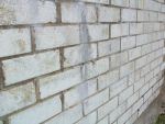 Brick Wall Side View By Obsolete Stock