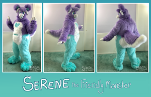Serene- full fursuit by Serene-is-Sweet