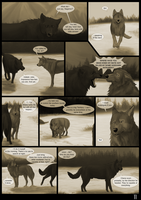 The Wolves Of Chena Page 11 by Yamis-Art