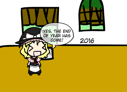 End of Marisa's Year by NaturesRose