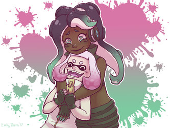 Splat Girlfriends by ET-the-Nerdling