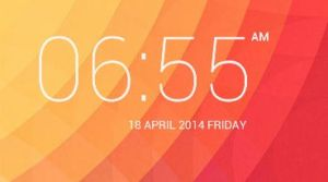 Kitkat Digital Clock for XWidget by Sychno7