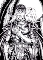 Guts and Slan by kiborgalexic