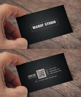 Blakish Business card by maruf1