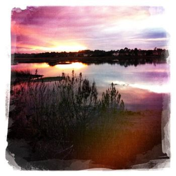 Florida Sunset - Hipstamatic by LilMissLayla