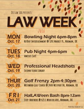 Graphic Design - Fall Week of Events by blackxCanary
