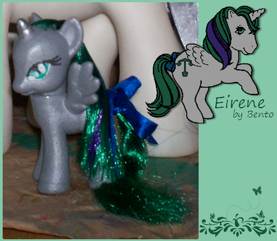 Eirene-custom G4 pony by bento-chan