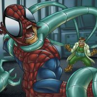 Spiderman vs Dr Octopus by GONZZO