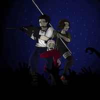[HU] Let's Draw : The Walking Dead by LeeToutCourt
