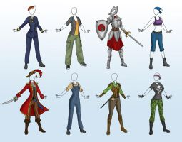 Wolfkat outfits By Captain Savvy by Gatekat