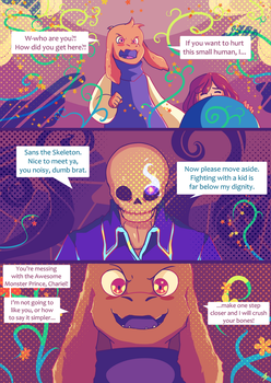 Undertale comic - Hellsiblings - 82 by marvyanaka