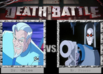 Death Battle - Dr. Gelee v.s Mr. Freeze by Badboylol