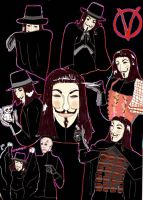 V for Vendetta by SeverusPet