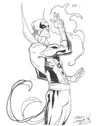 Iron Fist by Drakelb
