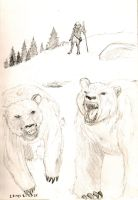 Elisha and the Two She Bears by Dopplegager