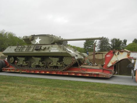 M36 Jackson Arriving at Eisenhowers Farm by Stonewall211