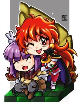 Slayers by peterete