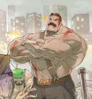 Mike Haggar by Itadori-syu