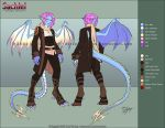 Sachiel- Outfit Ref by Horus-Goddess