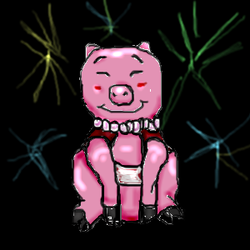 Year of the pig by Eri-kun