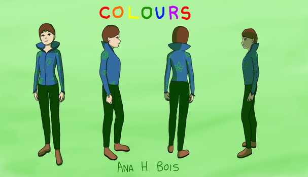 Colours Turnaround - Avery by anahbois