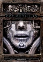 Prometheus movie poster by S-I-N-E-D