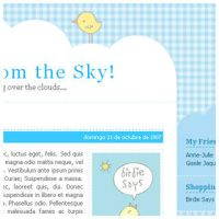 News from the Sky - 3 columns by arwenita