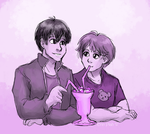 One Shake, Two Straws by ErinPtah