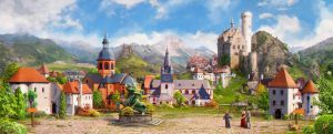 Medieval village_day by inSOLense