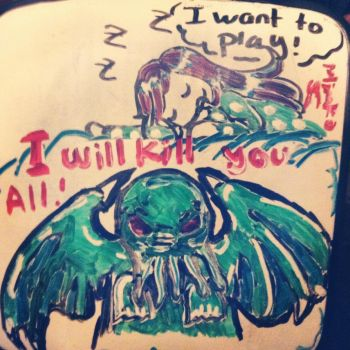 Dreaming with Cthulhu by Minako001