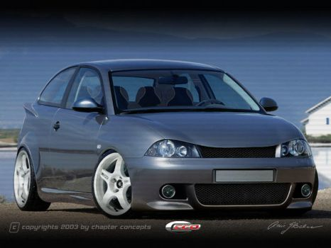 Seat Ibiza by chapter-concepts