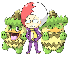 SS - Miror B and Ludicolo