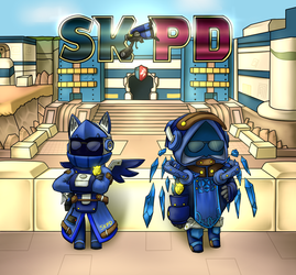 Spiral Knights Police Department (SKPD) by FightingPolygon