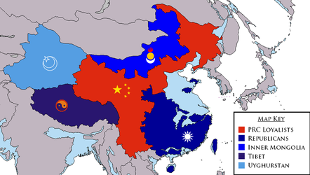 The Chinese Civil War by YNot1989