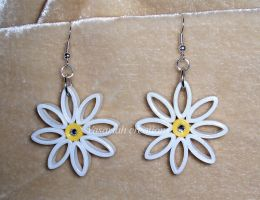 Quilling earrings 2 by OmbryB