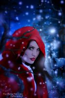 Walking with Red Riding by MelieMelusine