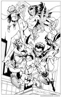 Young Justice: Sins Of Youth commission by ToddNauck