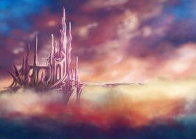 Castle in the Sky by charligal