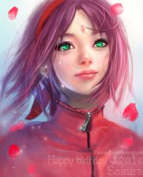 Sakura Haruno:happy birthday 2014! by RikaMello