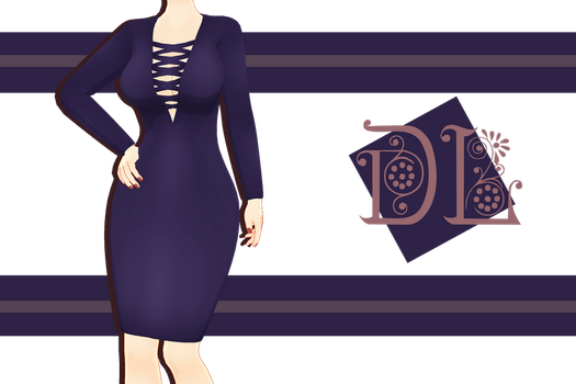 .:: MMD - Sexy Bodycon dress Download ::. by AneCoco