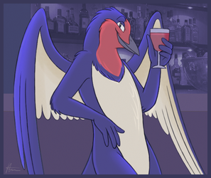Glass of Wine? by Articuno