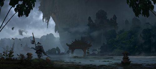 Misty Mountains by eWKn